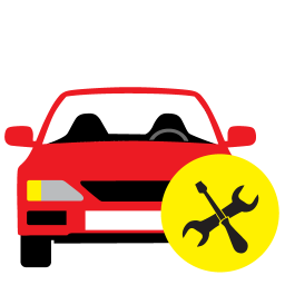 256x256px size png icon of Car Repair
