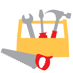 256x256px size png icon of Carpentry