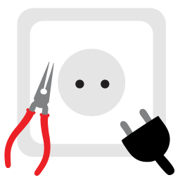 256x256px size png icon of Electrical