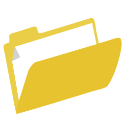 256x256px size png icon of Folder Filing
