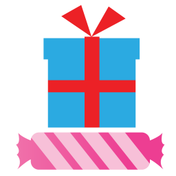 256x256px size png icon of Gifts