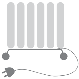 256x256px size png icon of Heating