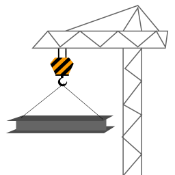 256x256px size png icon of Metal Construction