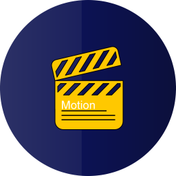 256x256px size png icon of motion graphics