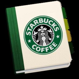 256x256px size png icon of StarbucksAddressBookV2 by chekkz