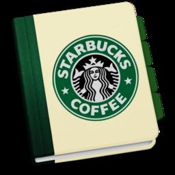 256x256px size png icon of StarbucksAddressBookV3 by chekkz