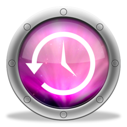 256x256px size png icon of TimeMachine Aurora