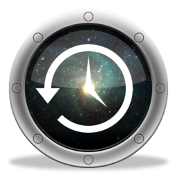 256x256px size png icon of TimeMachine Cosmos