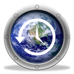 256x256px size png icon of TimeMachine Earth 3