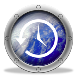 256x256px size png icon of TimeMachine Earth