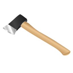 256x256px size png icon of Axe