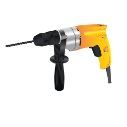 256x256px size png icon of Hand Drill Machine