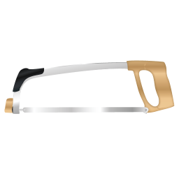 256x256px size png icon of Metal Saw