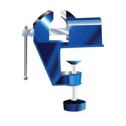 256x256px size png icon of Vise Vice Clamp