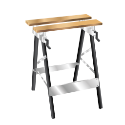 256x256px size png icon of Working Bench