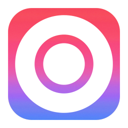 256x256px size png icon of Circle