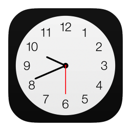 256x256px size png icon of Clock