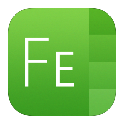 256x256px size png icon of Font Explorer X