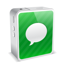 256x256px size png icon of chat