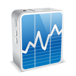 256x256px size png icon of stocks