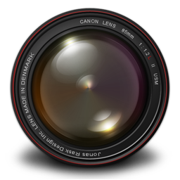256x256px size png icon of Aperture 3 Authentic