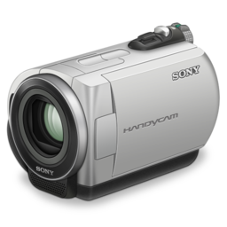 256x256px size png icon of sony handycam