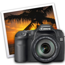 256x256px size png icon of eos 40d iphoto icon by darkdest1ny