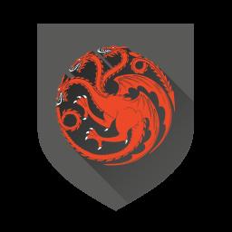 256x256px size png icon of Targaryen
