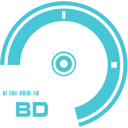 256x256px size png icon of BD