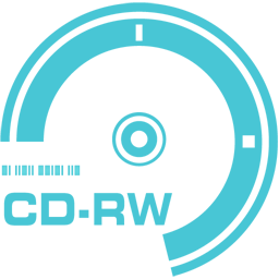 256x256px size png icon of CD RW