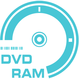 256x256px size png icon of DVD RAM
