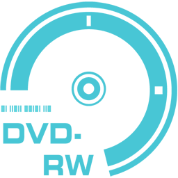 256x256px size png icon of DVD RW