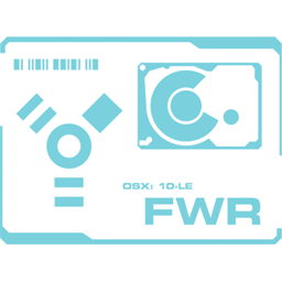 256x256px size png icon of Firewire
