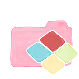 256x256px size png icon of Folder Candy Windows