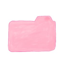 256x256px size png icon of Folder Candy