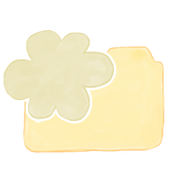 256x256px size png icon of Folder Vanilla Cloud