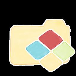 256x256px size png icon of Folder Vanilla Windows