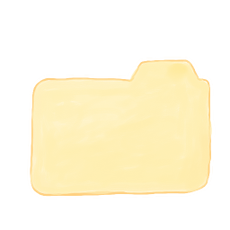 256x256px size png icon of Folder Vanilla