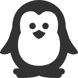 256x256px size png icon of Christmas penguin
