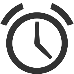 256x256px size png icon of Shopping alarm clock