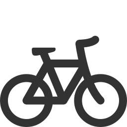 256x256px size png icon of Transport bicycle