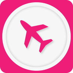 256x256px size png icon of airplane mode