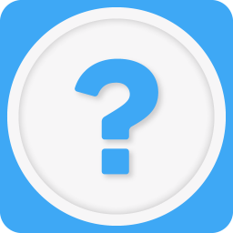 256x256px size png icon of question