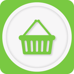 256x256px size png icon of shopping