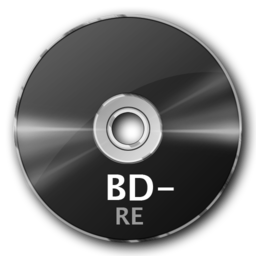 256x256px size png icon of BD RE