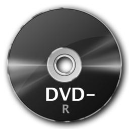 256x256px size png icon of DVD R