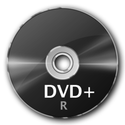 256x256px size png icon of DVD+R