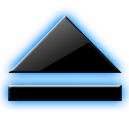 256x256px size png icon of Eject