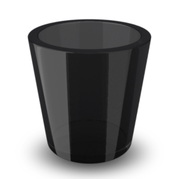 256x256px size png icon of Empty Trash