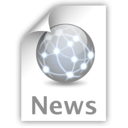 256x256px size png icon of News
